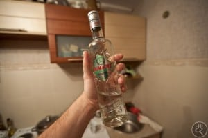 Blagoff Green Apple vodka