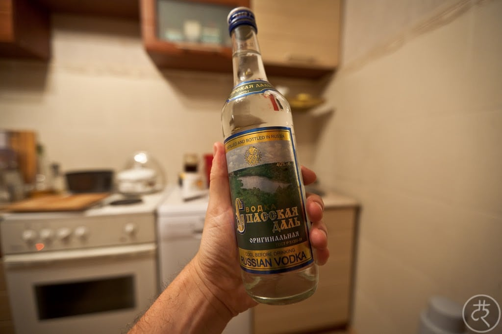 Spasskaya Dal' vodka