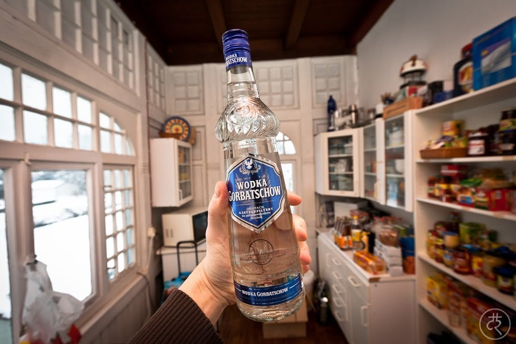 Gorbatschow Blue Label vodka