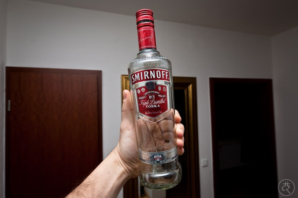 Smirnoff Red Label #21 vodka
