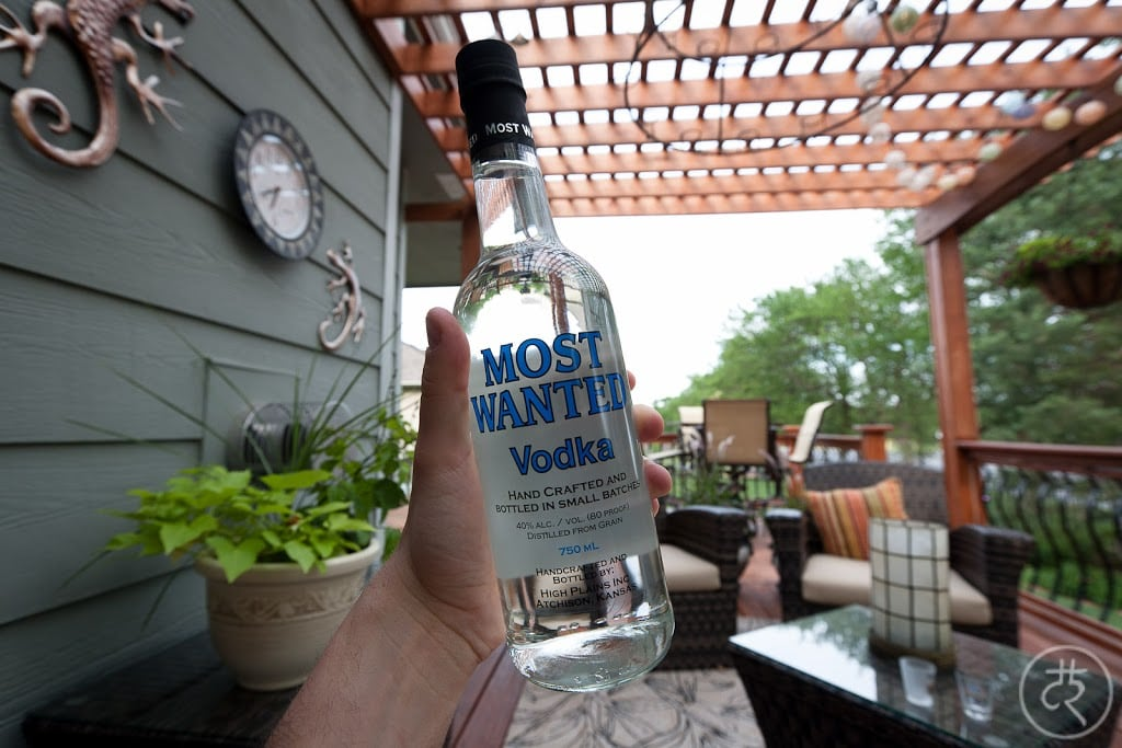 Most Wanted vodka