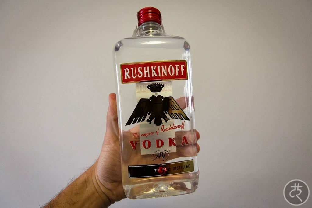 Rushkinoff vodka