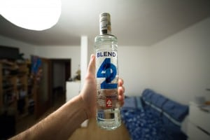 42 Blended vodka
