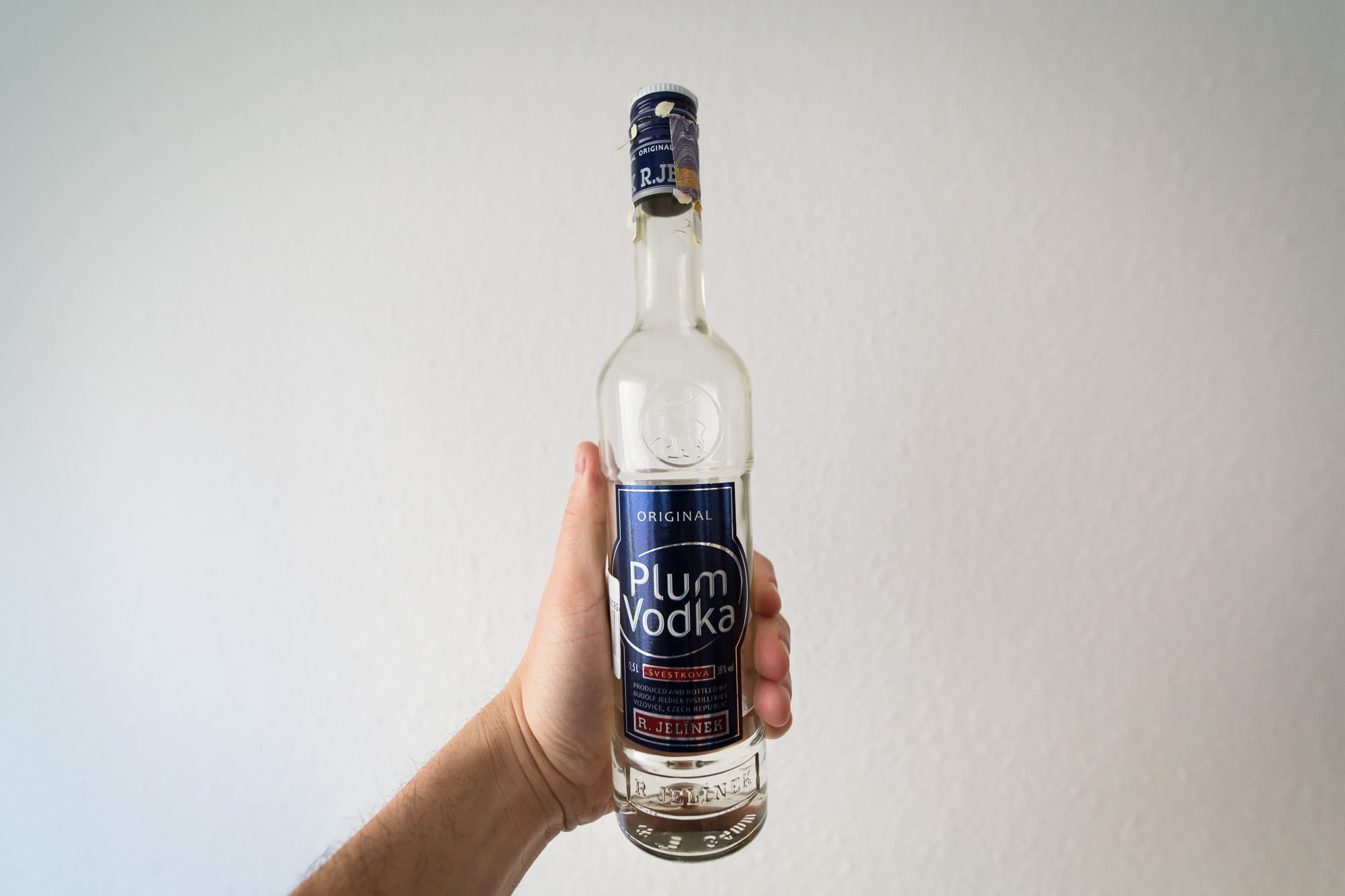R. Jelinek Plum vodka